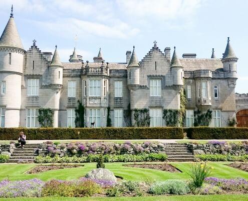 Brits koninklijk zomervertrek Balmoral Castle